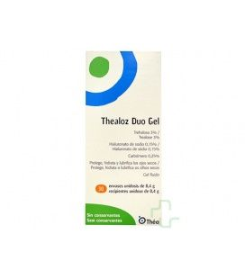 Thealoz Duo Gel Esteril Unidosis 0.4 G Ml 30 Uni