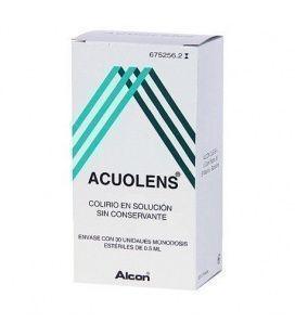 ACUOLENS 5.5/3 MG/ML COLIRIO 30 MONODOSIS SOLUCIÓN