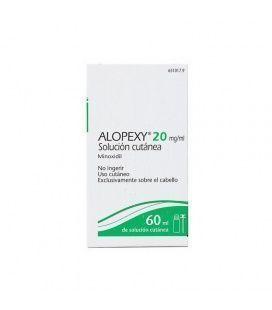 ALOPEXY 20 MG/ML SOLUCION CUTANEA 1 FRASCO 60 ML