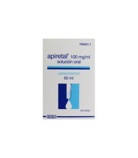 APIRETAL 100 MG/ML SOLUCION ORAL 60 ML