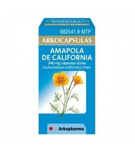ARKOCAPSULAS AMAPOLA DE CALIFORNIA 240 MG 100 CA