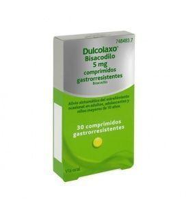 Dulcolaxo Bisacodilo 5 Mg 30 Comprimidos