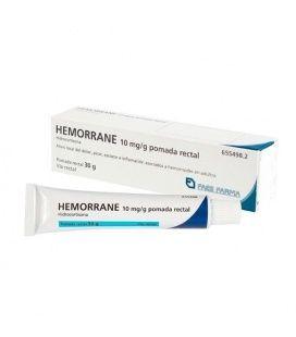 HEMORRANE 10 MG/G POMADA RECTAL 30 G