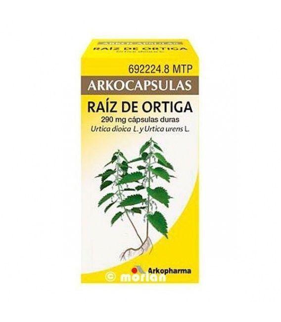 ARKOCAPSULAS RAIZ DE ORTIGA 290 MG 48 CAPSULAS