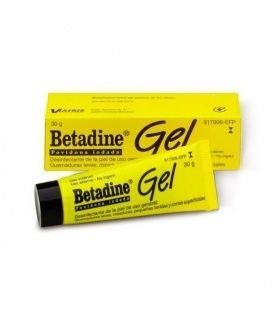 BETADINE 100 MG/G GEL TOPICO 30 G