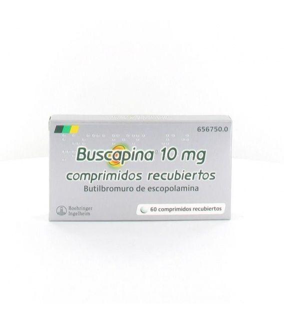 BUSCAPINA 10 MG 60 COMPRIMIDOS RECUBIERTOS