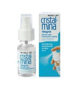 Cristalmina 10 Mg/ml Solucion Topica Pulverizado