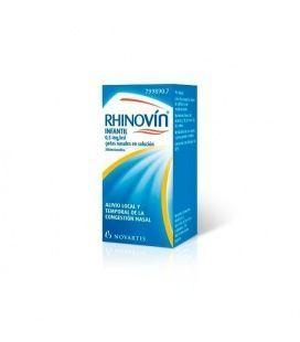 RHINOVIN INFANTIL 0.5 MG/ML GOTAS NASALES 1 FRAS