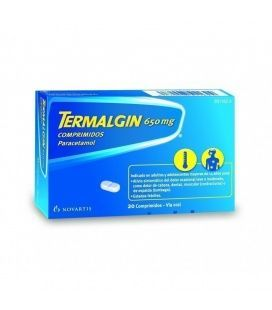 TERMALGIN 650 MG 20 COMPRIMIDOS