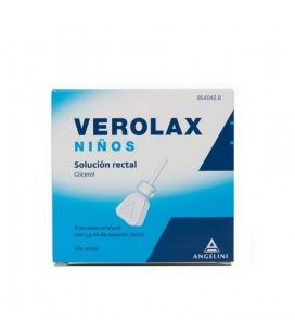 Verolax Niños 1.8 Ml Solucion Rectal 6 Enemas 2.5ml