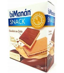 Bimanan Snack Chocolate Con Leche Sabor Vainilla 2Uds