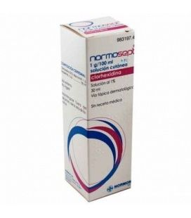 NORMOSEPT 10 MG/ML SOLUCION TOPICA 30 ML
