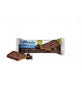 Bimanan Snack Barrita Crujiente Cereales Choco Negro 1und