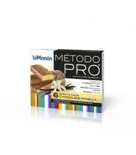 BIMANAN METODO PRO BARRITA CHOCOLATE-VAINILLA HIPERPROTEICA