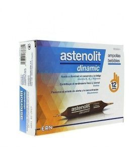 ASTENOLIT DINAMIC AMPOLLAS BEBIBLES 12 AMP