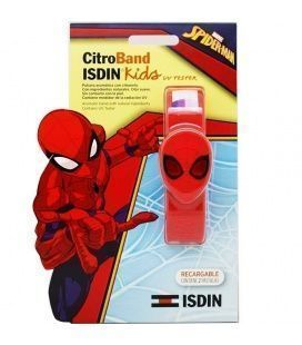 CITROBAND ISDIN KIDS + UV TESTER PULSERA SPIDERMAN