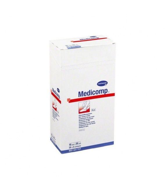 MEDICOMP COMPRESAS APOSITO ESTERIL 10 X 10CM 10U